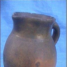 Antigüedades: CERAMICA POPULAR ANTIGUA CATALANA SXIX JARRA GERRA 16CMALT. Lote 51339714