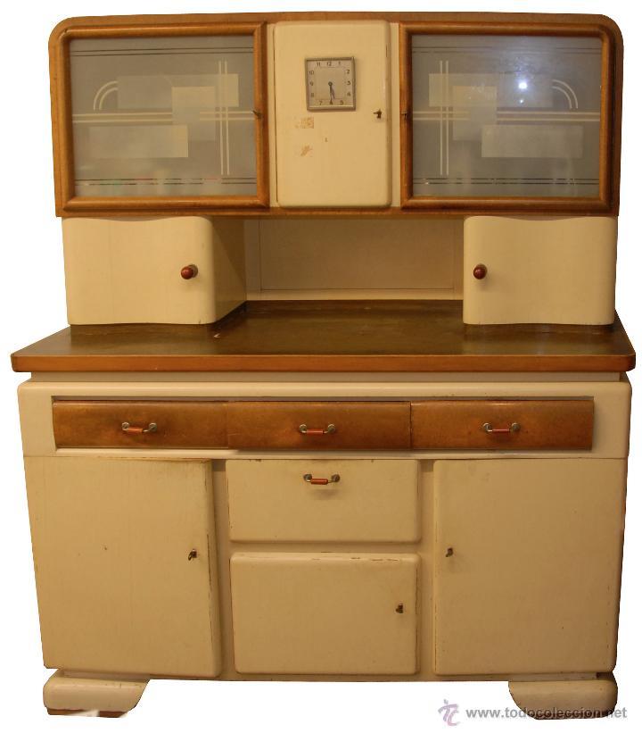 Armarios De Cocina Antiguos. Fauna Decorativa Muebles Antiguos Para ...