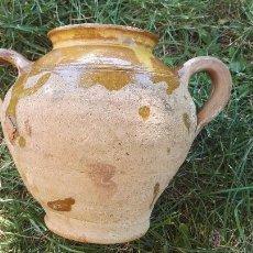 Antigüedades: ALFARERÍA CATALANA ORZA GERRA SXIX ZONA OLOT.. Lote 51353275