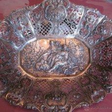 Antigüedades: BANDEJA DE PLATA DE LEY 916. Lote 40016963