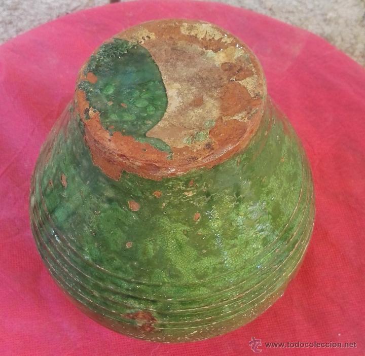 Antigüedades: Alfareria catalana gerra orza ceramica s XIX XX. Figueres Olot. - Foto 3 - 51374565