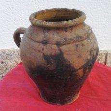 Antigüedades: PUCHERO CERÁMICA S XIX XX.. Lote 51375319