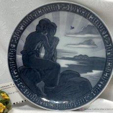 Antigüedades: ROYAL COPENHAGEN, DENMARK.- PLATO CONMEMORATIVO.-SELLADO. Lote 51379019