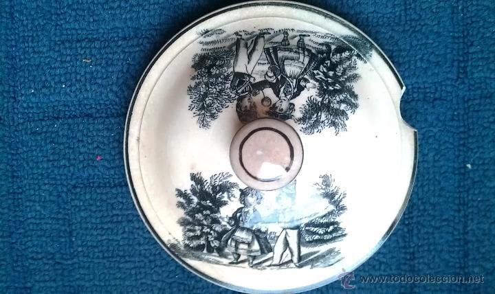 Antigüedades: Siglo XIX. DULCERA O MIELERA CARTAGENA. RARISIMA PIEZA - Foto 3 - 51391850