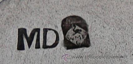 Antigüedades: BANDEJA MODERNISTA CON SEIS COPAS DE LICOR - WMF , PRINCIPIO SIGLO XX - Foto 3 - 51409898