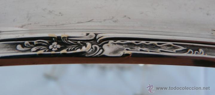 Antigüedades: BANDEJA MODERNISTA CON SEIS COPAS DE LICOR - WMF , PRINCIPIO SIGLO XX - Foto 7 - 51409898