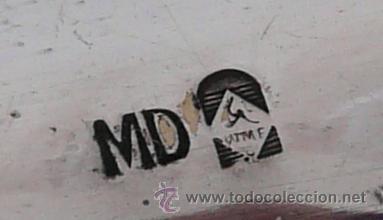 Antigüedades: BANDEJA MODERNISTA CON SEIS COPAS DE LICOR - WMF , PRINCIPIO SIGLO XX - Foto 18 - 51409898