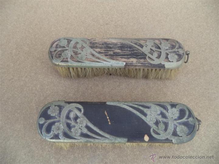 Antigüedades: 2 sepillos antiguos - Foto 2 - 64587141