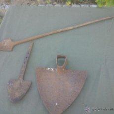 Antigüedades: ANTIGUO LOTE UTENSILIOS DE AGRICULTURA. Lote 51425819