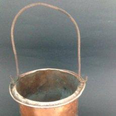 Antigüedades: ANTIGUO CUBO DE COBRE. Lote 51435454