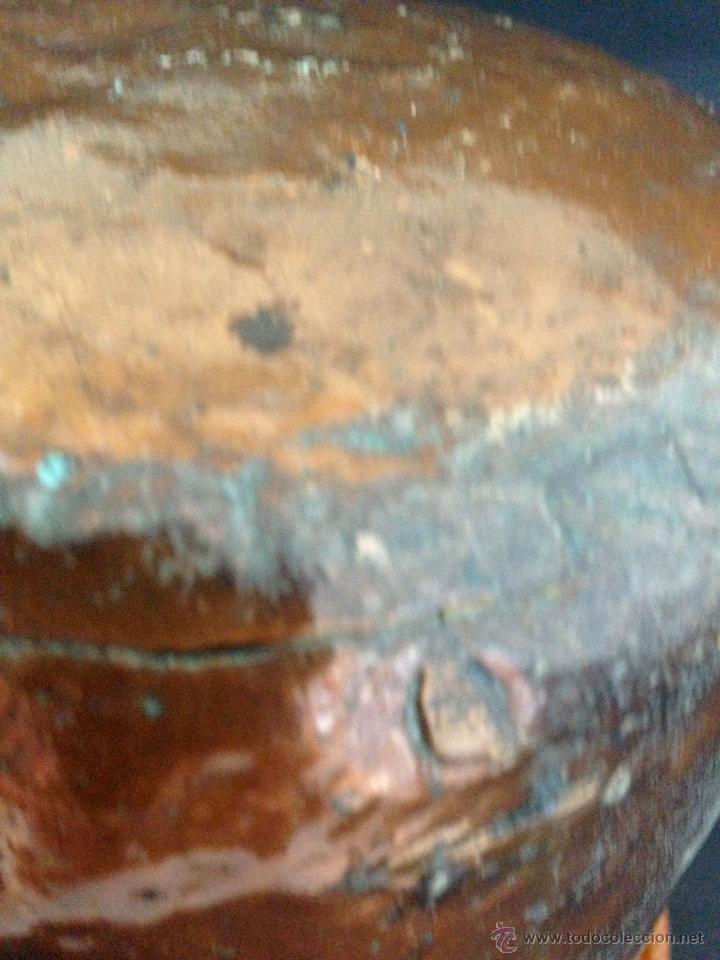 Antigüedades: ANTIGUO CUBO DE COBRE - Foto 7 - 51435454