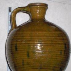 Antigüedades: ANTIGUA JARRA CERAMICA PERULA DE ÚBEDA FINALES DEL SIGLO XIX. Lote 51447307