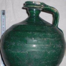 Antigüedades: ANTIGUA JARRA CERAMICA PERULA DE ÚBEDA FINALES DEL SIGLO XIX. Lote 51447346