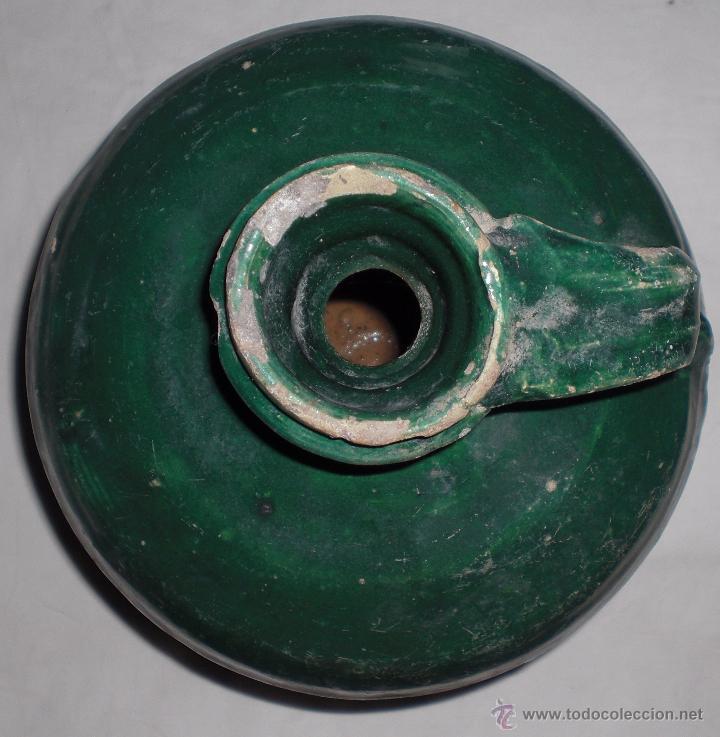 Antigüedades: Antigua jarra ceramica perula de úbeda finales del siglo XIX - Foto 2 - 51447346