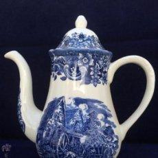 Antigüedades: CAFETERA ANTIGUA GRANDE INGLESA SELLADA ROYAL TUDOR. Lote 51449696