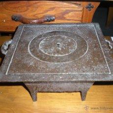 Antigüedades: HORNILLO DE HIERRO METÁLICO PARA CARBÓN . Lote 51450736