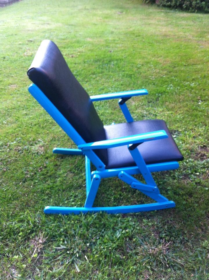 Silla mecedora plegable infantil nica comprar sillas antiguas en todocoleccion 33366475 - Mecedora plegable ...