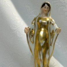 Antigüedades: SANTA ANA.- ANTIGUA FIGURA EN PORCELANA.-VIEJO PARIS.-. Lote 51464748
