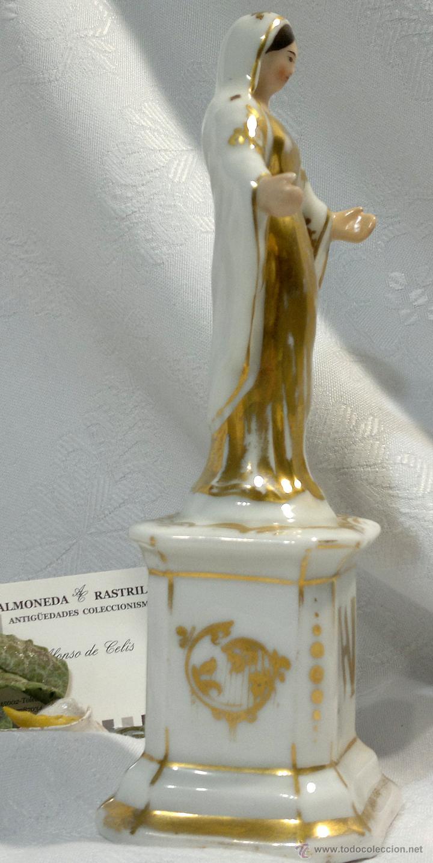 Antigüedades: SANTA ANA.- ANTIGUA FIGURA EN PORCELANA.-VIEJO PARIS.- - Foto 8 - 51464748