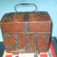 Antigüedades: BOTIQUIN DE BOTICARIO DE BARCO PARA RESTAURAR. SIGLOS XVIII-XIX. Lote 48861215