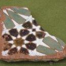 Antigüedades: AZULEJO ANTIGUO DE TOLEDO - ARISTA - ARABE - SIGLO XVI.. Lote 51482572