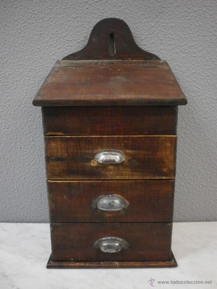 antiguo mueble especiero - rustico - para colga - Comprar Muebles ...