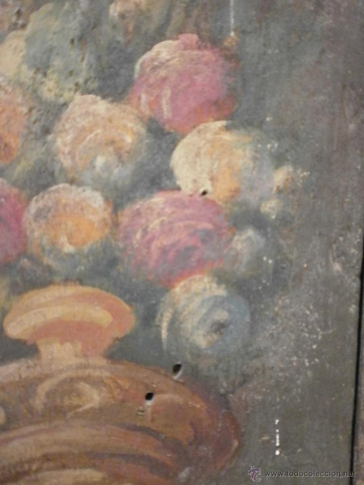Antigüedades: Antigua pareja de puertas - Barrocas - policromadas dos caras - siglo XVIII - capilla etc... - Foto 3 - 51488214