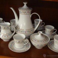 Antigüedades: JUEGO DE CAFE SANTA CLARA 11 SERVICIOS. Lote 51497692