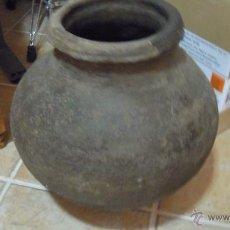 Antigüedades: TINAJA ANTIGUA PEQUEÑA MUY GRACIOSA. NO TIENE RAJAS Y ESTA COMPLETA.. Lote 51511500