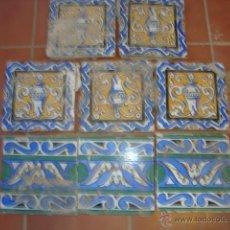 Antigüedades: LOTE AZULEJOS. Lote 51521692