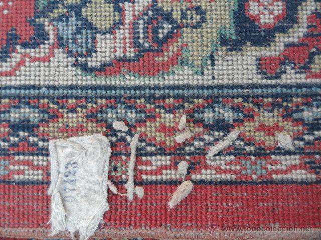 Antigüedades: ALFOMBRA ANTIGUA. - Foto 11 - 101937860