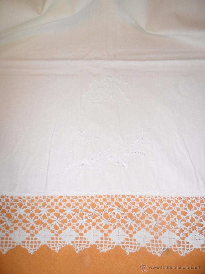 Antigüedades: Antiguo juego de cama - Foto 3 - 51545297