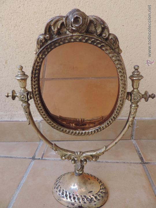 Antiguo espejo de tocador o sobremesa basculant vendido - Espejo veneciano antiguo ...