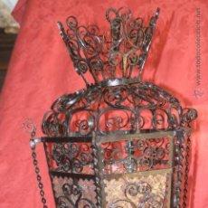 Antigüedades: FAROL FORJADO. Lote 51575367