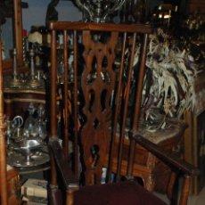 Antigüedades: PAREJA DE SILLAS ANTIGUAS. Lote 51575432