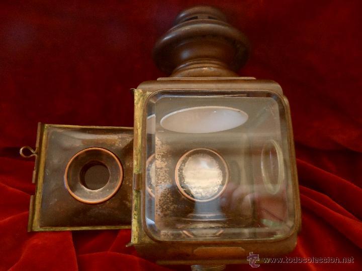 Antigüedades: PRIMER MODELO DE FARO DE ACETILENO PARA COCHE,CREADO POR EL GRAN AERONÁUTICO BLÉRIOT, AÑO 1.897 - Foto 2 - 50131603