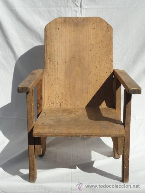 Sill n de madera para ni os peque os comprar sillones for Sillones para ambientes pequenos