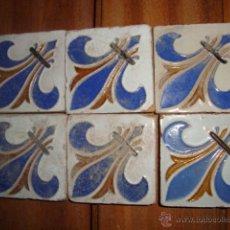 Antigüedades: LOTE DE AZULEJOS OLAMBRILLAS (TRIANA). Lote 51588184
