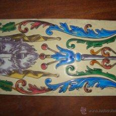 Antigüedades: AZULEJO PICKMAN MEDALLA DE ORO 78. Lote 51588259