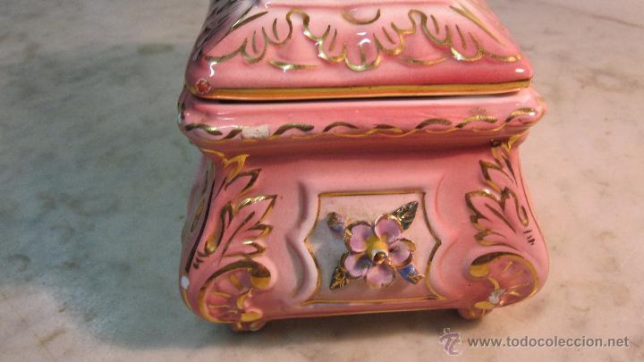 Antigüedades: COFRE DE PORCELANA FINA - Foto 4 - 51591131