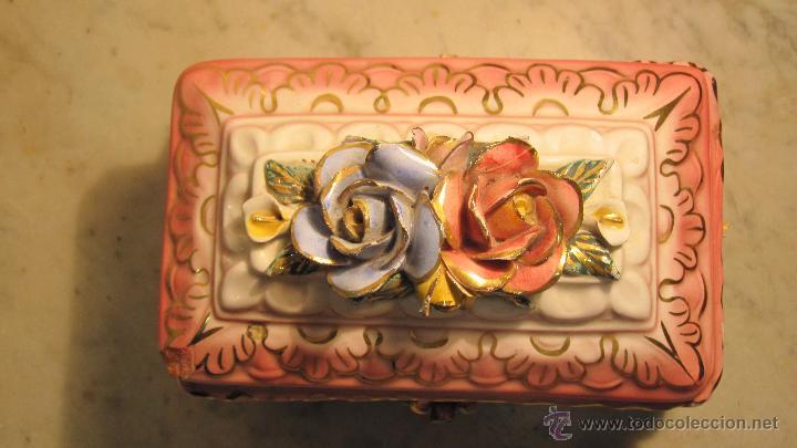 Antigüedades: COFRE DE PORCELANA FINA - Foto 5 - 51591131