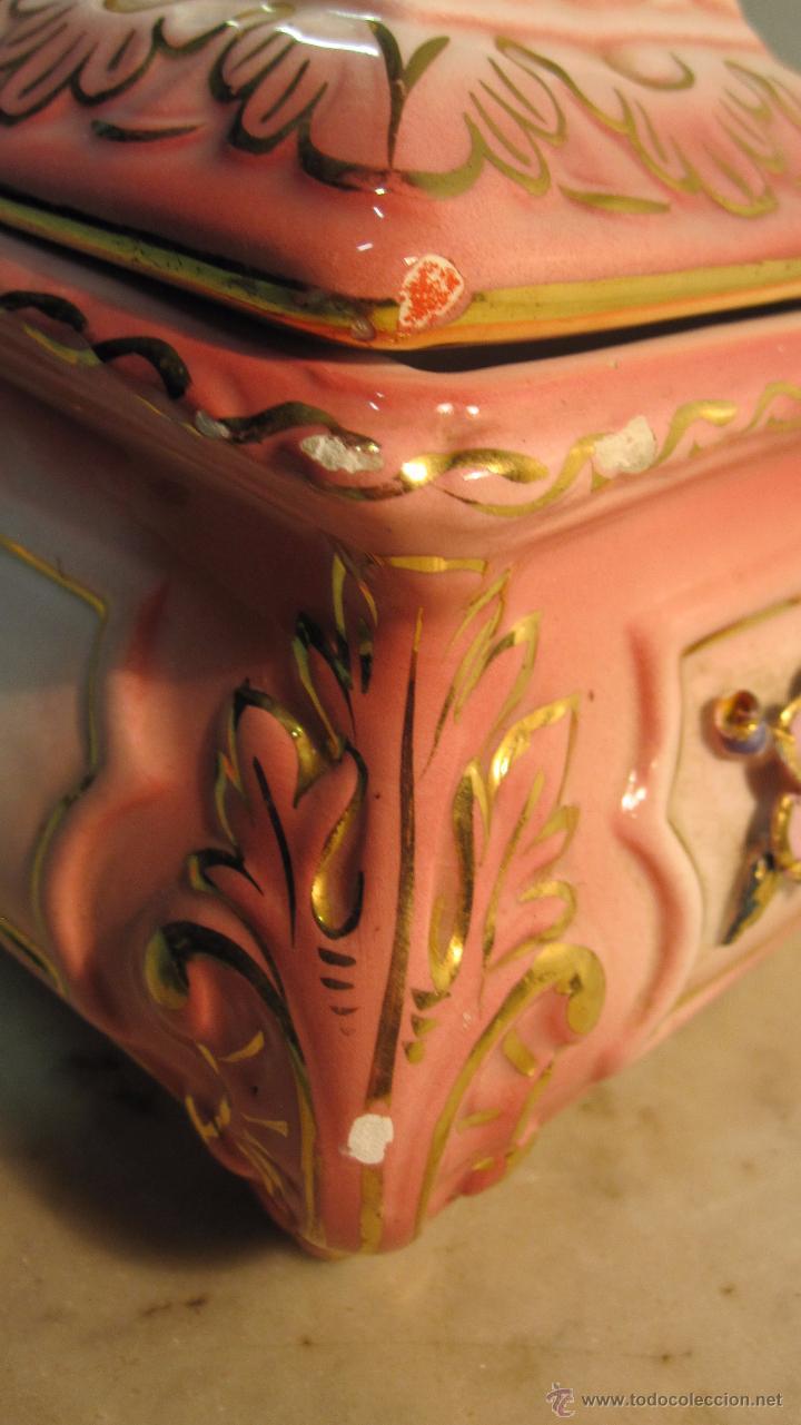 Antigüedades: COFRE DE PORCELANA FINA - Foto 7 - 51591131