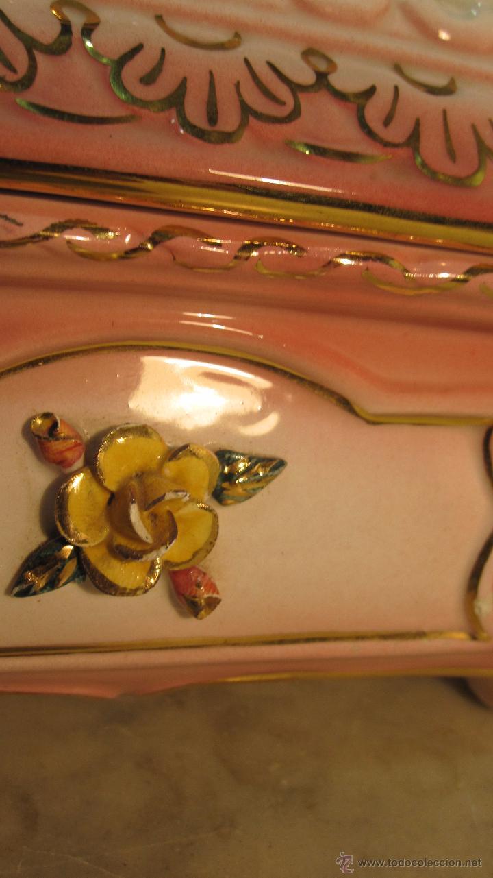 Antigüedades: COFRE DE PORCELANA FINA - Foto 8 - 51591131