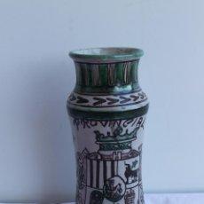 Antigüedades: ALBARELO CERAMICA DOMINGO PUNTER. Lote 108461624