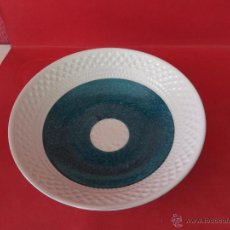 Antigüedades - Sargadelos, ceramicas O Castro. Plato sopero portomarinico bicolor verde. - 51599117