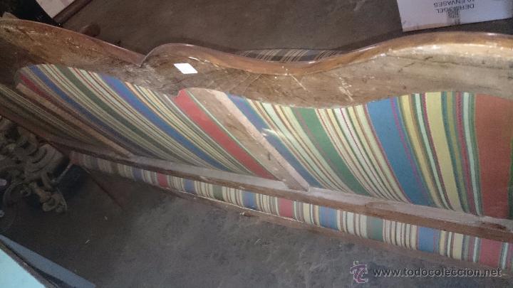 Antigüedades: TRESILLO ISABELINO RECIEN TAPIZADO. OCASIÓN!!! - Foto 3 - 51603677