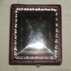 Antigüedades: CAJA DE MADERA Y PLATA FORRADA EN TERCIOPELO. Lote 51614829