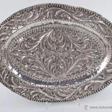 Antigüedades: BANDEJA DE PLATA DE LEY. Lote 51626741