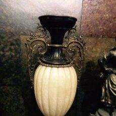 Antigüedades: JARRÓN DE MÁRMOL Y BRONCE. Lote 51629983