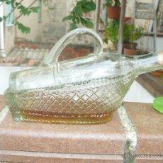 Antigüedades: ANTIGUA BOTELLA PARA LICOR - FORMA DE PORTABOTELLA.. Lote 51633103